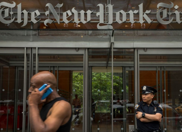 photo of Започва да излиза The New York Times