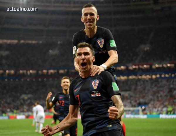 photo of Хърватия е на финал в Русия след обрат срещу Англия