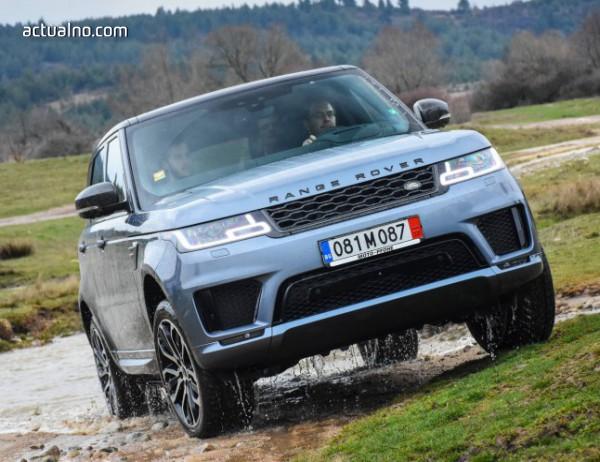 photo of Лукс, динамика и комфорт на върха: Range Rover Sport (тест-драйв)
