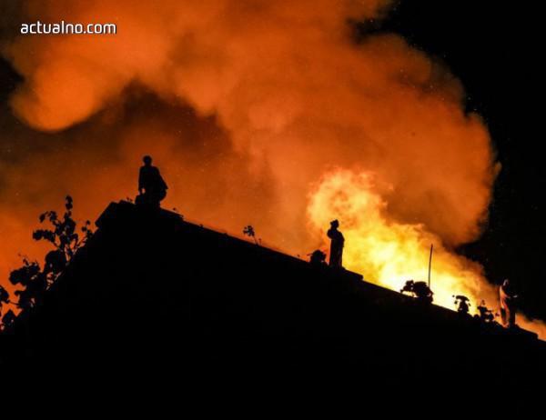 photo of Пожар отне живота на 10 души в тренировъчно съоръжение на Фламенго