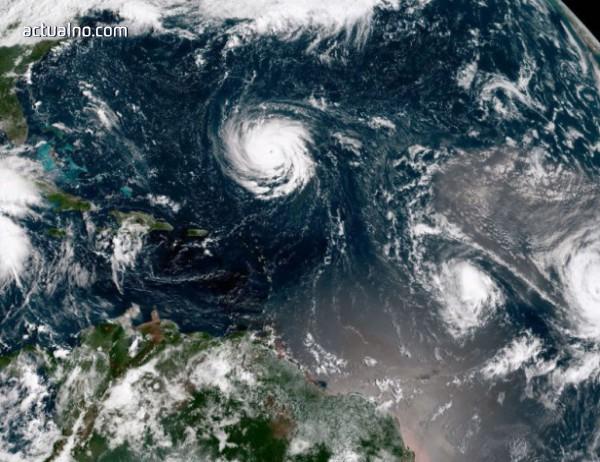 """photo of Ураганът """"Флорънс"""" понижи силата си"""