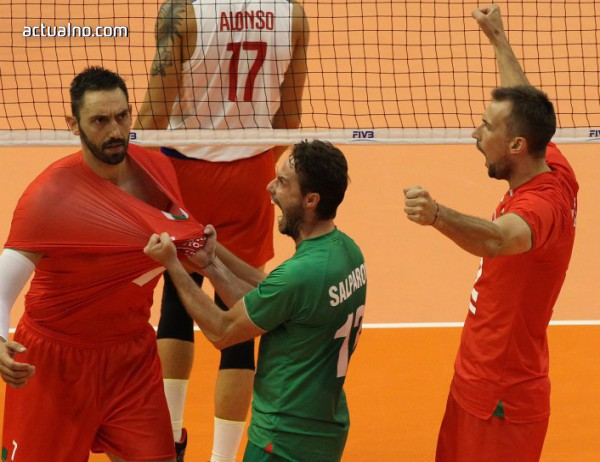 photo of България разби Иран на Световното по волейбол