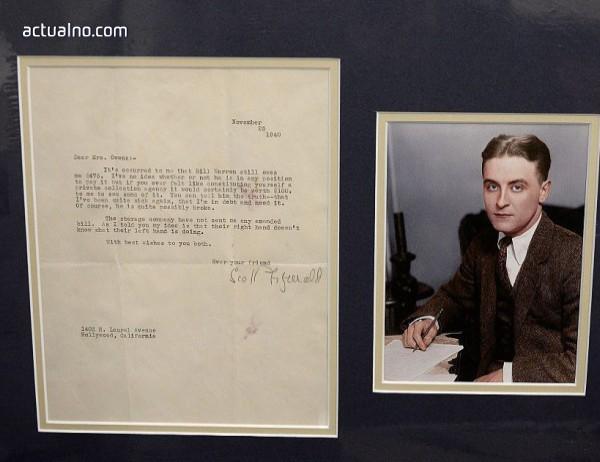 photo of Роден е Франсис Скот Фицджералд
