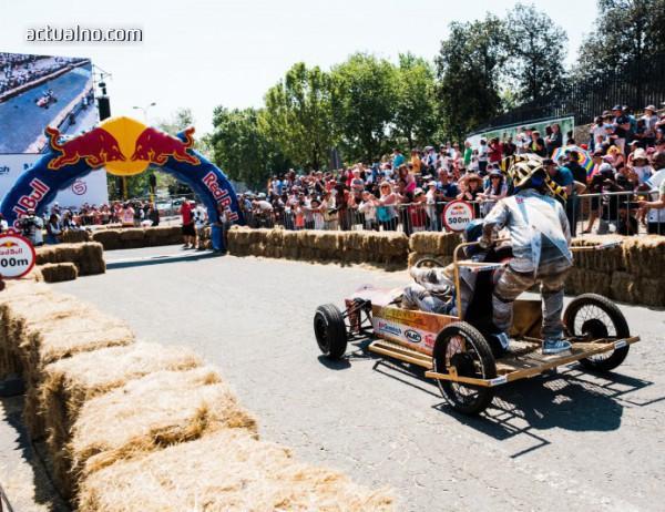photo of Повече препятствия и по-голяма скорост по тазгодишното трасе на Red Bull Soapbox