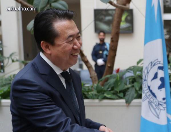 photo of Президентът на Интерпол подаде задочно оставка