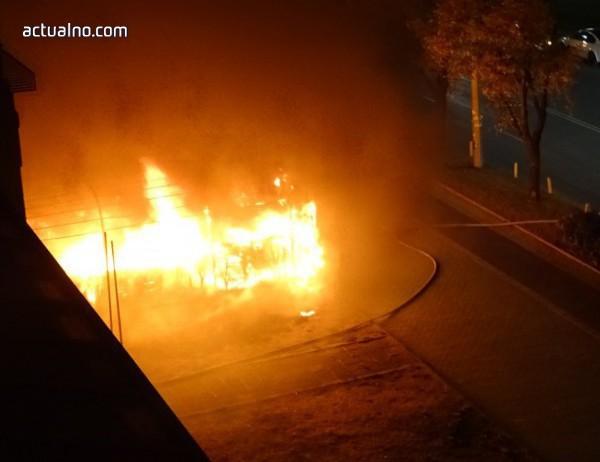 photo of Мъж пострада при пожар край Струмяни