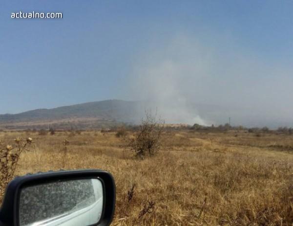 """photo of Кметът на Ихтиман за АМ """"Тракия"""": Според мен сметището е запалено умишлено"""