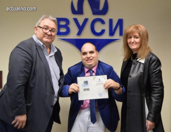 photo of Смолянчанин надмогна болестта си и стана магистър