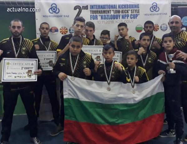 photo of Варненци обраха медалите от Балкански турнир по кикбокс