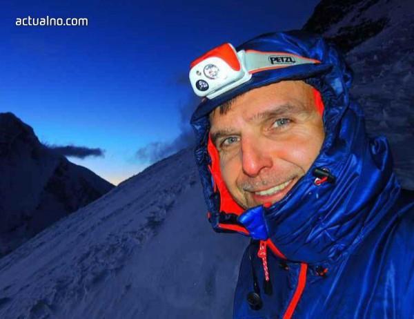 photo of Излиза книгата на алпиниста Райнхолд Меснер, посветена на Боян Петров