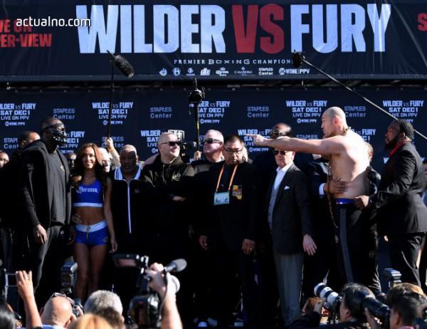 photo of Ето къде може да гледаме боксовото зрелище Дионтей Уайлдър - Тайсън Фюри