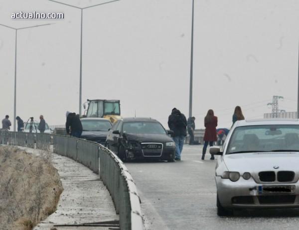 """photo of Верижна катастрофа в """"Надежда"""""""