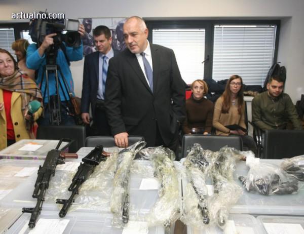 photo of Борисов: Толкова много оръжия хванахме, колкото специалните бригади нямат