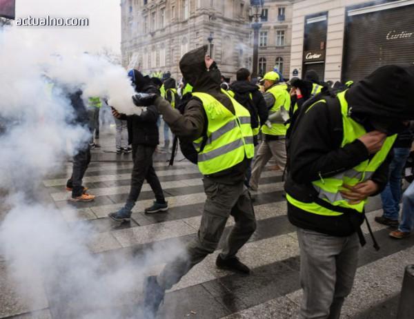 """photo of Нови протести на """"жълтите жилетки"""" в Париж"""