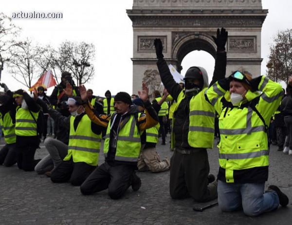 """photo of """"Жълтите жилетки"""" се готвят за нови протести в цяла Франция днес"""