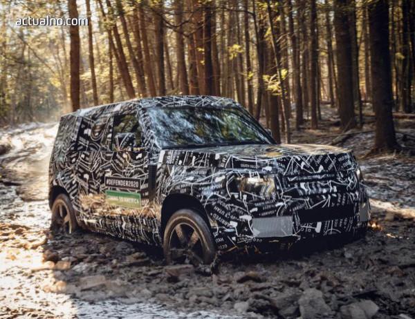 photo of Land Rover показа още от новия Defender