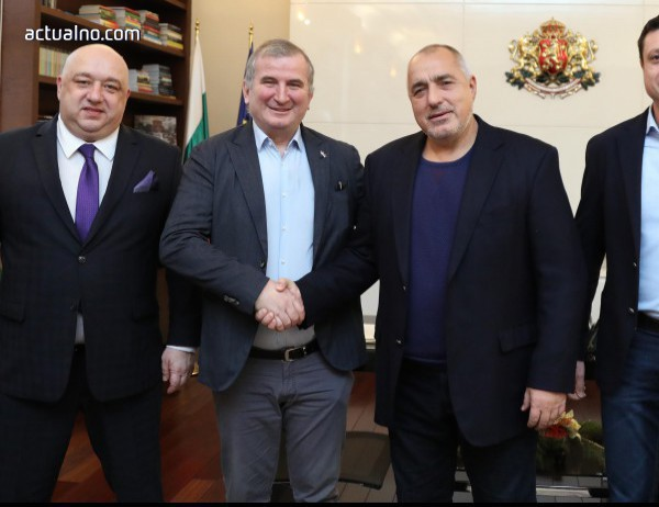 photo of Премиерът Бойко Борисов се срещна с турнирния директор на Sofia Open Горан Джокович