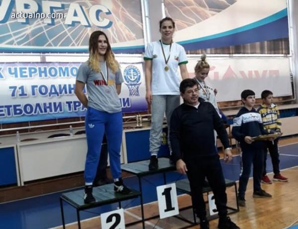 photo of Рая Кьосева е шампион на България в категория до 62 килограма