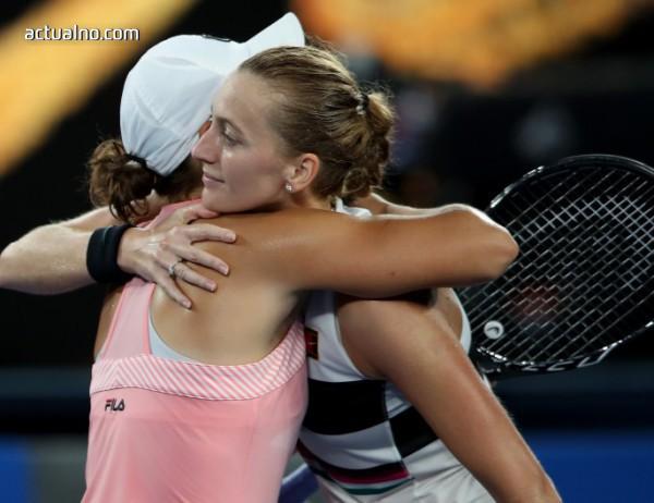 photo of Квитова е на полуфинал на Australian Open без загубен сет