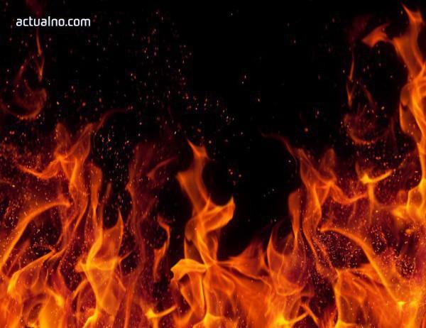 photo of Пожар в магазин за пиротехника в Пловдив