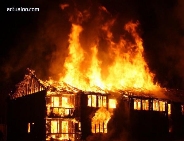 photo of Пожар вилнее в цех за месо във Войводиново