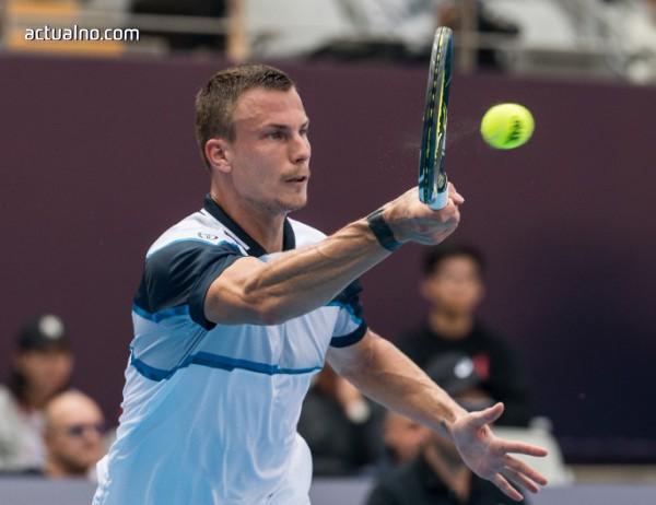 photo of Мартон Фучович е първият финалист на турнира в София