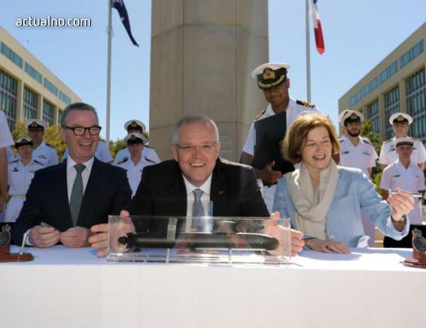 photo of Австралия подписа военен договор за десетки милиарди с Франция