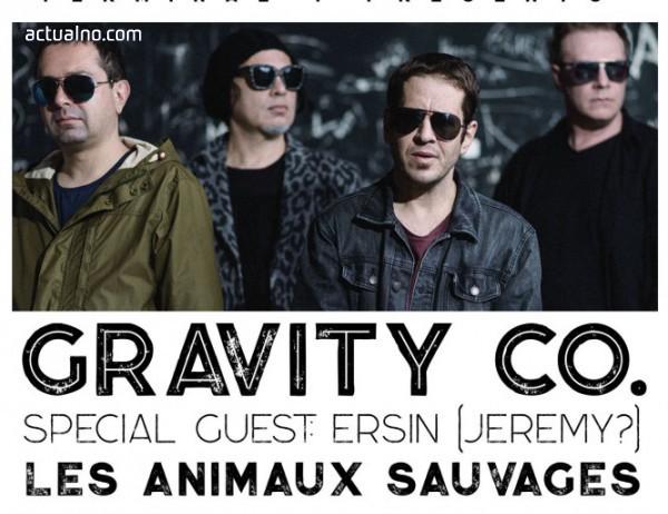 """photo of Gravity Co. с първи концерт за годината на 13 февруари в клуб """"Терминал 1"""""""