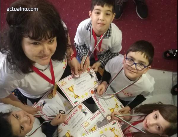 photo of Деца от Асеновград с призови места на първата олимпиада по ментална аритметика