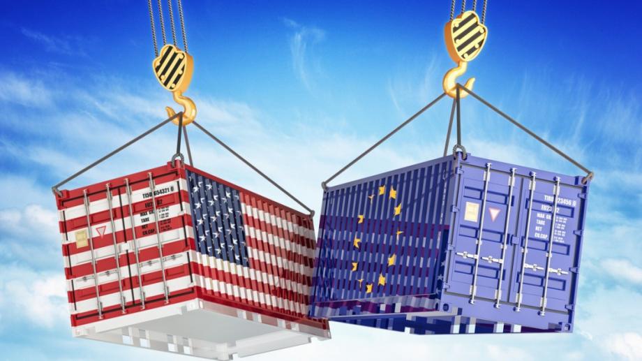 Европейският съюз и САЩ се споразумяха да прекратят многогодишния търговски
