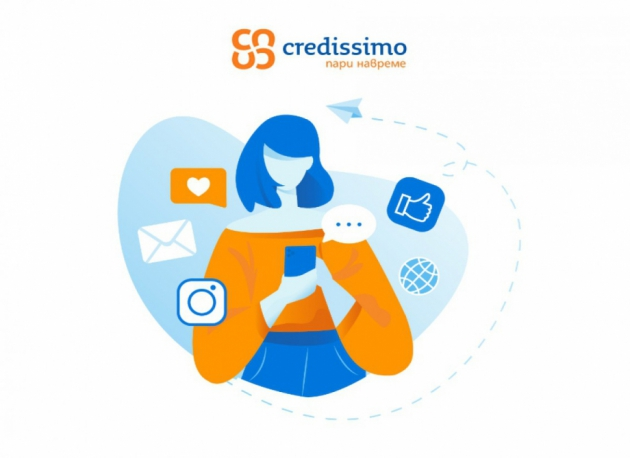 Credissimo вече в WhatsApp, Facebook Messenger и Viber