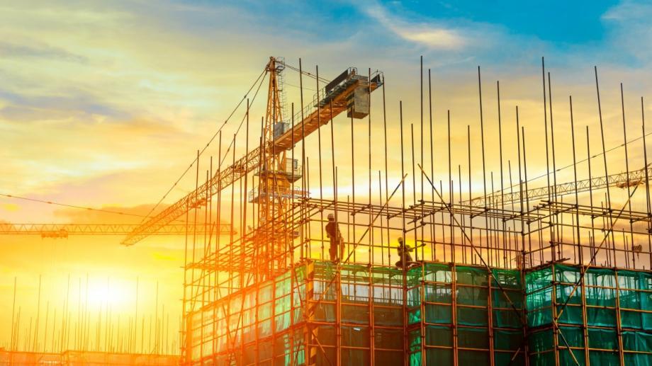 България се нарежда на трето място по ръст в строителната