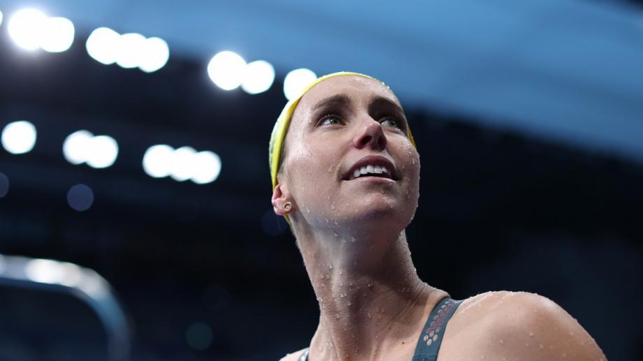 Ема МакКион спечели отлимпийската титла на 50 м. свободен стил с олимпийски рекорд